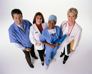 Four Health Care Workers